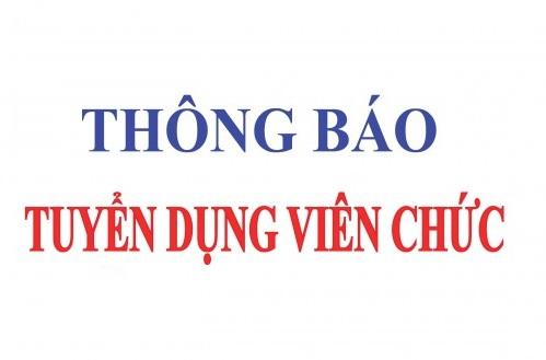 Kế hoạch tuyển dụng viên chức Trung tâm xúc tiến đầu tư và hỗ trợ phát triển doanh nghiệp thuộc Sở Kế hoạch và Đầu tư tỉnh Ninh Bình