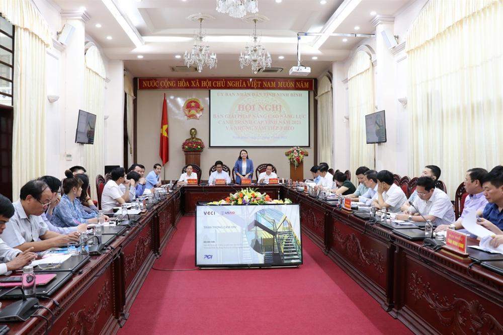 Hội nghị bàn giải pháp nâng cao năng lực cạnh tranh cấp tỉnh năm 2021 và những năm tiếp theo